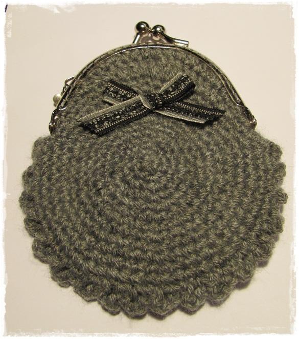 Monedero de crochet – Comando Craft