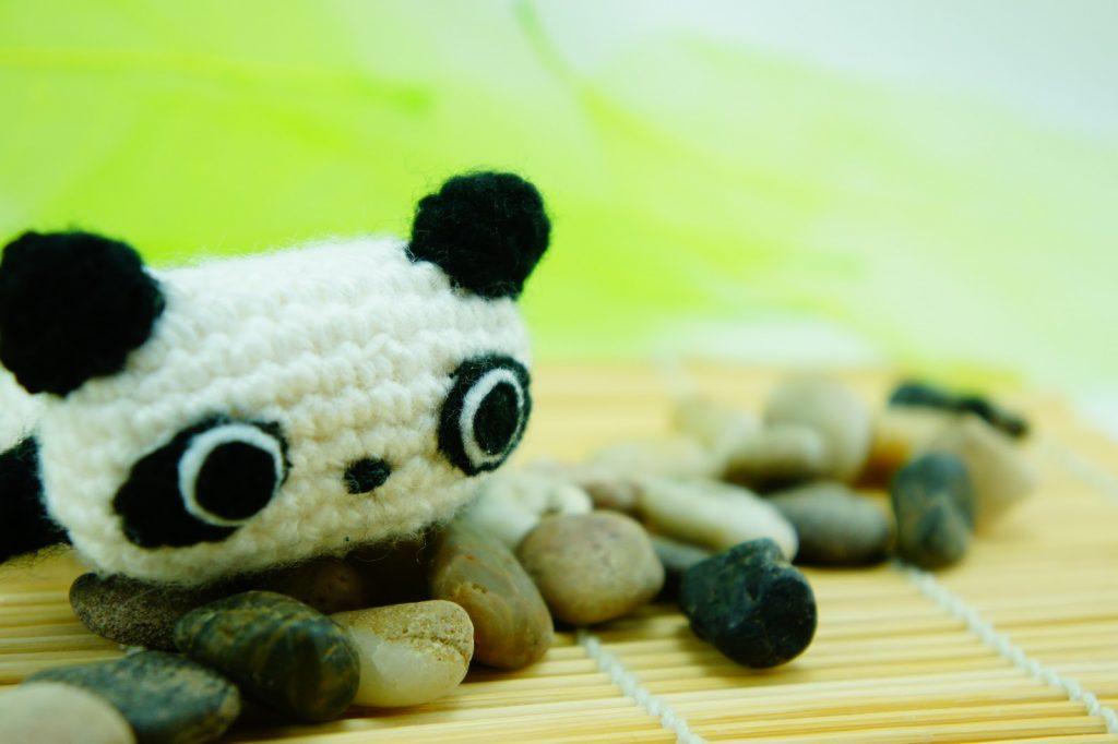Amigurumi Oso Panda Patron : Amigurumi u comando craft