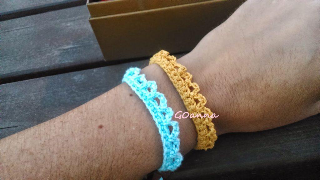 patron pulsera crochet – Comando Craft