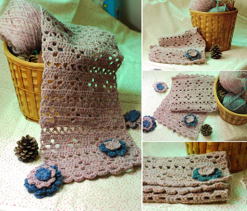 patrones sencillos bufandas crochet – Comando Craft