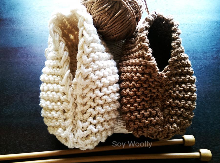 Teje botitas, patucos, zapaticos, escarpines…el patrón más fácil y ...