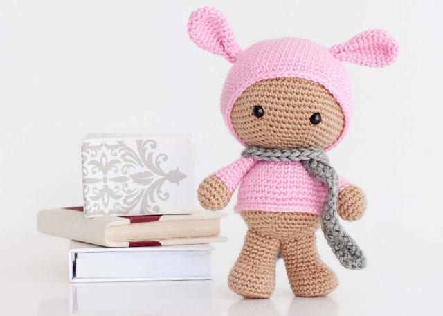 Bunny amigurumi pattern, kawaii bunny, crochet bunny pattern, pdf ... | 457x640