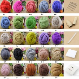 Kit iniciación de fieltrado de lana - Fieltro de lana - Herramientas