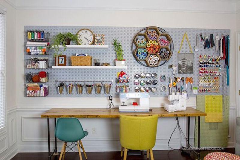Ideas para organizar tu escritorio o despacho con tableros - Tablero escritorio ...