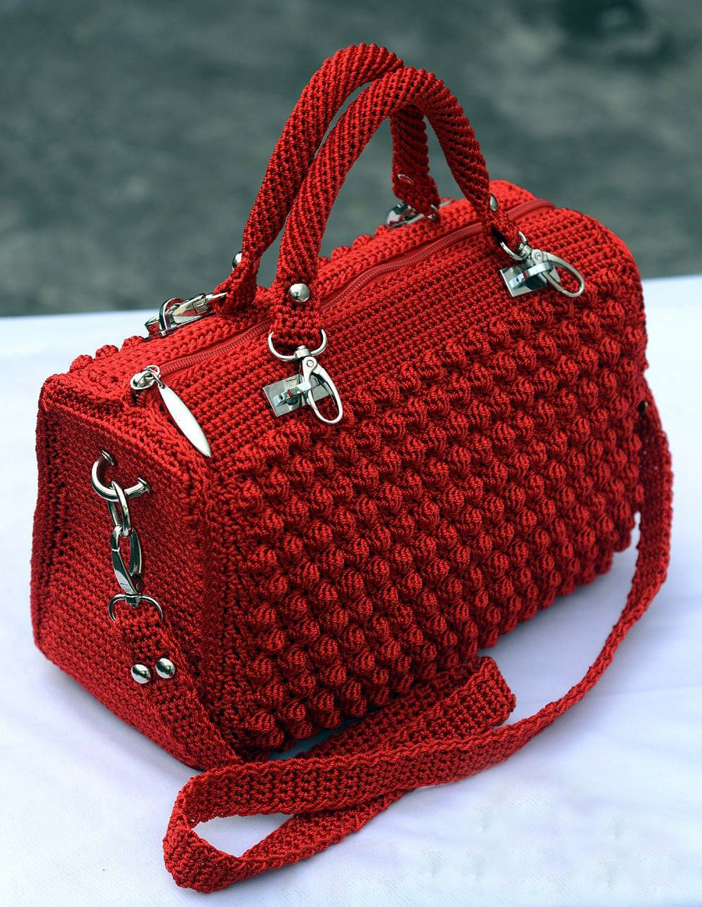 Patrón Bolso Tipo Chanel en Ganchillo – Crochet – Comando Craft
