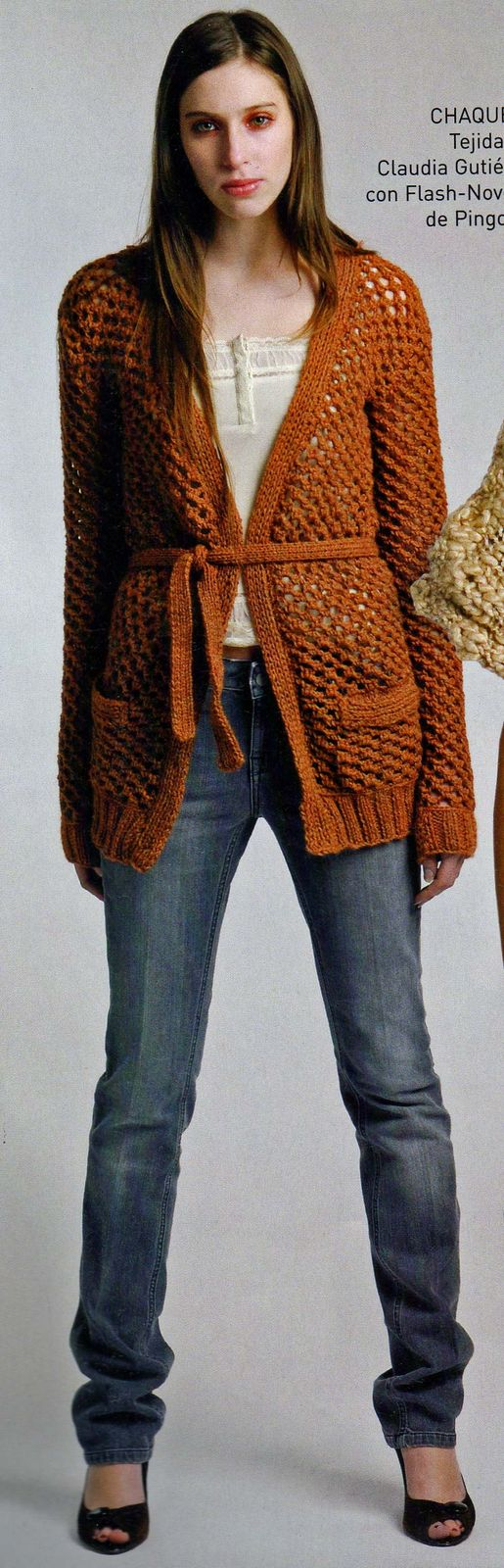 Patrones – Chaqueta Crochet Larga – Cardigan Ganchillo – Comando Craft