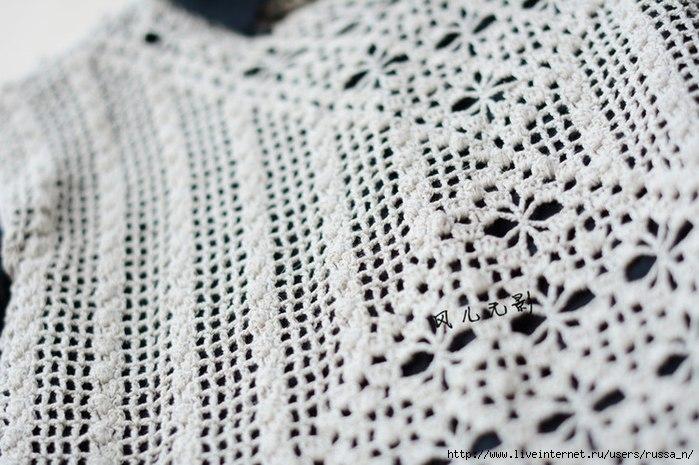 Top en Crochet – Camiseta de ganchillo – Patrones – Comando Craft