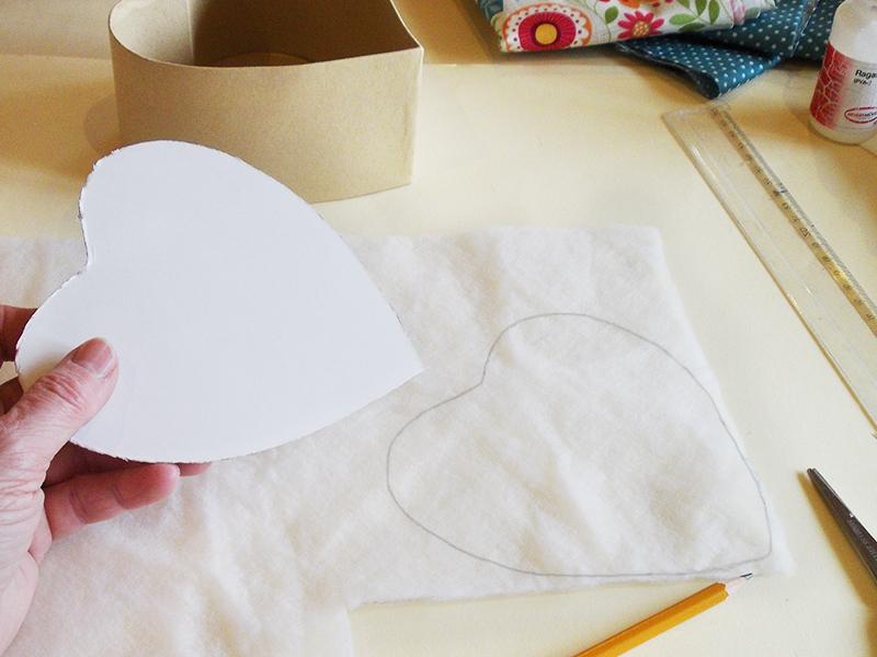 Aprende como forrar una caja con tela paso a paso - Como forrar una caja con tela ...