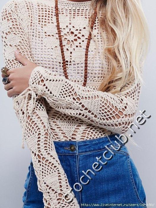 Blusas Crochet Comando Craft