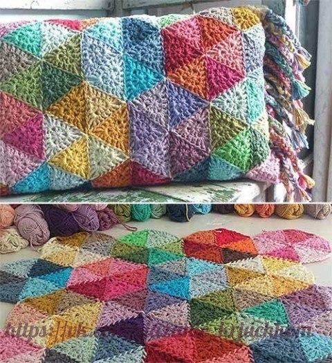 Colcha de ganchillo crochet paso a paso comando craft - Mantas de ganchillo paso a paso ...