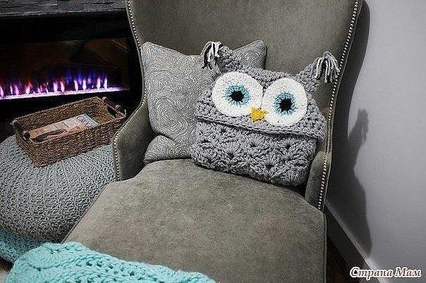 Manta buho Crochet – Patrones – Mantas de Ganchillo – Comando Craft
