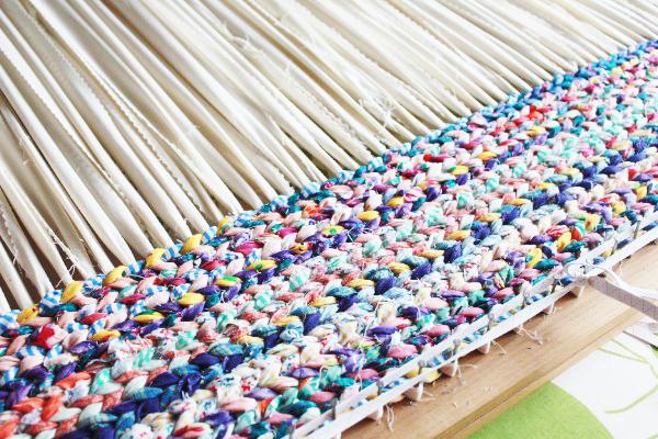 Reciclado aprovechar restos de lana comando craft - Alfombra trapillo facil ...