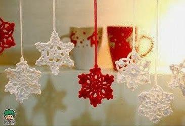 Patrones Diagramas Estrellas y copos de nieve de navidad