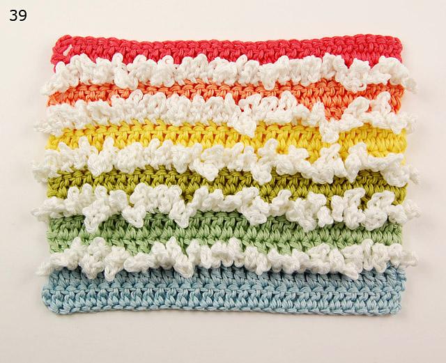 Manta de crochet con ondas paso a paso comando craft - Mantas de ganchillo paso a paso ...
