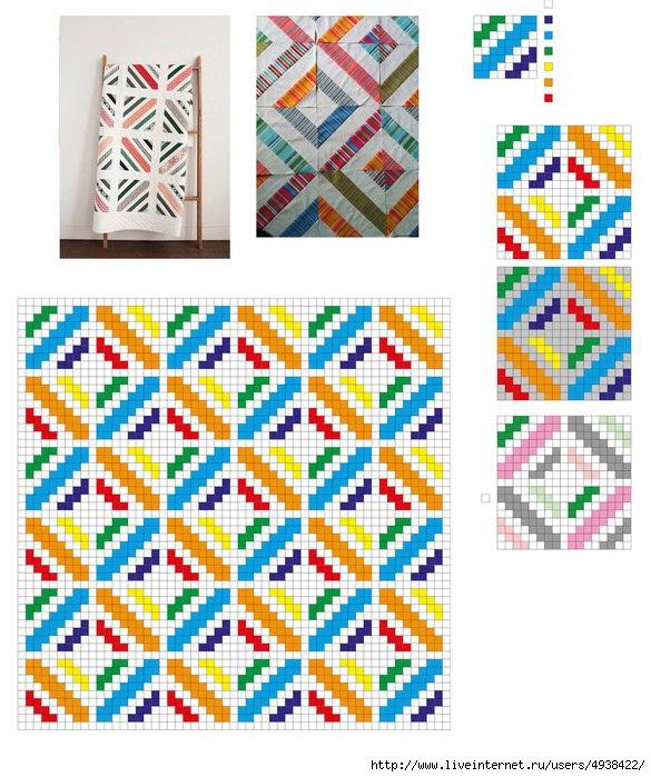 Manta C2C Crochet – Patrones – Comando Craft