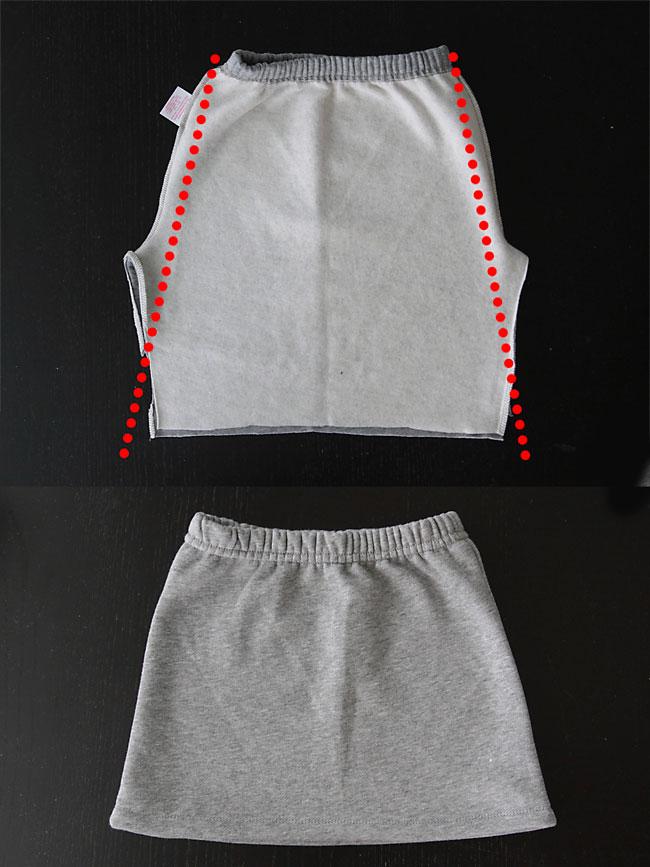 Convertir Pantalon De Chandal En Falda Tutoriales