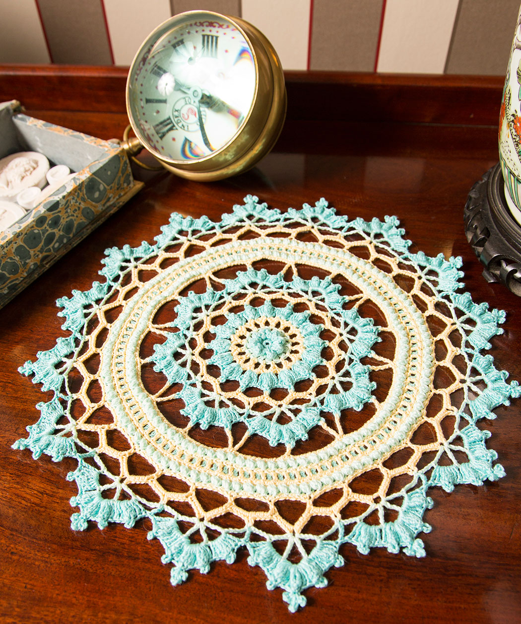 Tapete – Doily – Crochet – Ganchillo – Patrones – Diagramas ...