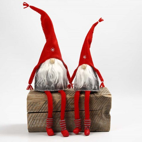 Manualidades Duendes De Navidad.Paso A Paso Duendes De Fieltro Manualidades Navidenas