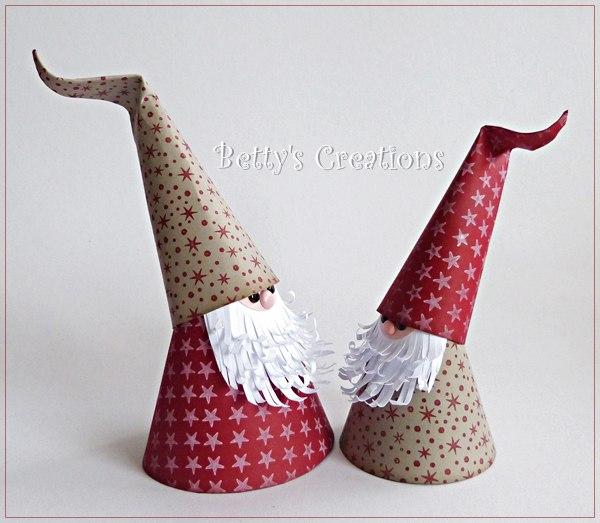 Duendes de papel paso a paso manualidades para navidad for Manualidades para navidad paso a paso