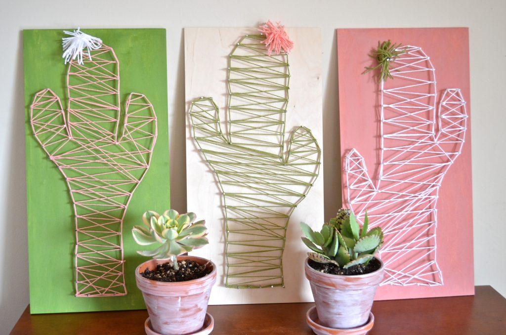 Paso a paso – Cuadro Cactus – Comando Craft