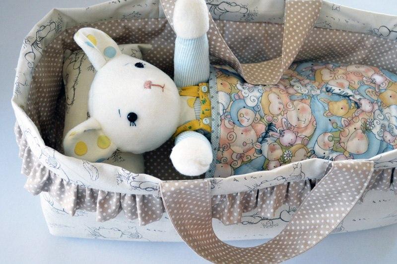Paso a paso – Tutorial y patrón – Cuna para muñecos – Costura ...