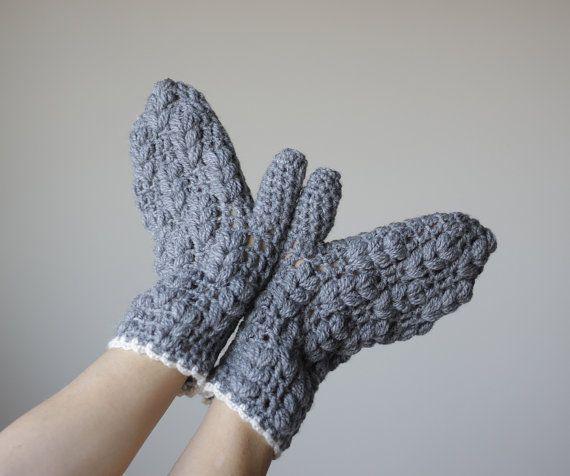 Patron – Diagrama – Guantes Crochet – Mitones Ganchillo – Comando Craft