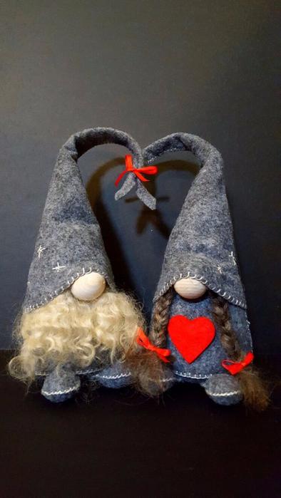Paso a paso tutoriales gnomos duendes de estilo escandinavo manualidades para navidad - Manualidades de navidad paso a paso ...