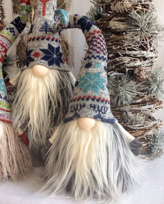 Manualidades Duendes De Navidad.Paso A Paso Tutoriales Gnomos Duendes De Estilo
