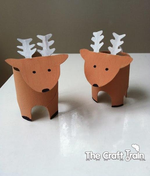 Decora reciclando rollos de papel navidad manualidades - Manualidades navidad papel ...