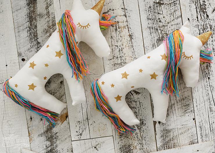 Cute Crochet Unicorn Pillow – Free Patterns #freecrochetpatterns ...   529x740