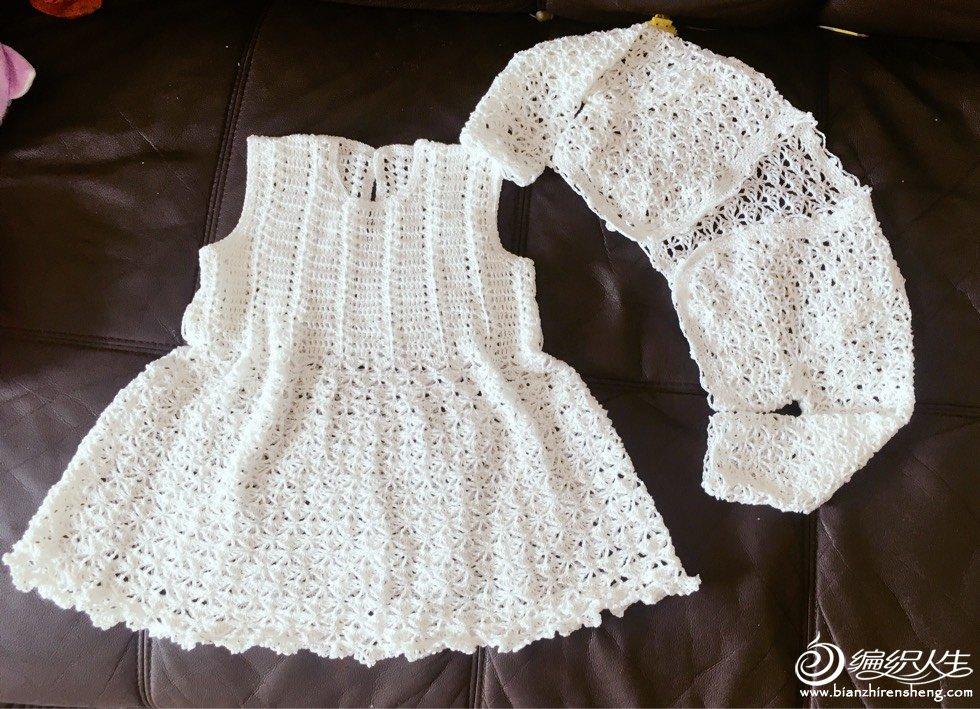 Patron Vestido y Chaqueta para niña de Crochet – Comando Craft
