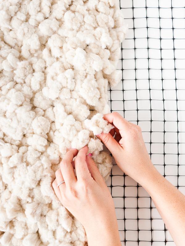 C mo hacer una alfombra xxl desde cero comando craft - Alfombras de algodon ...