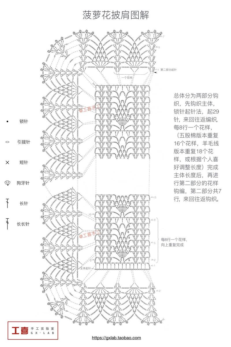 Patrón de Bufanda Crochet – Comando Craft