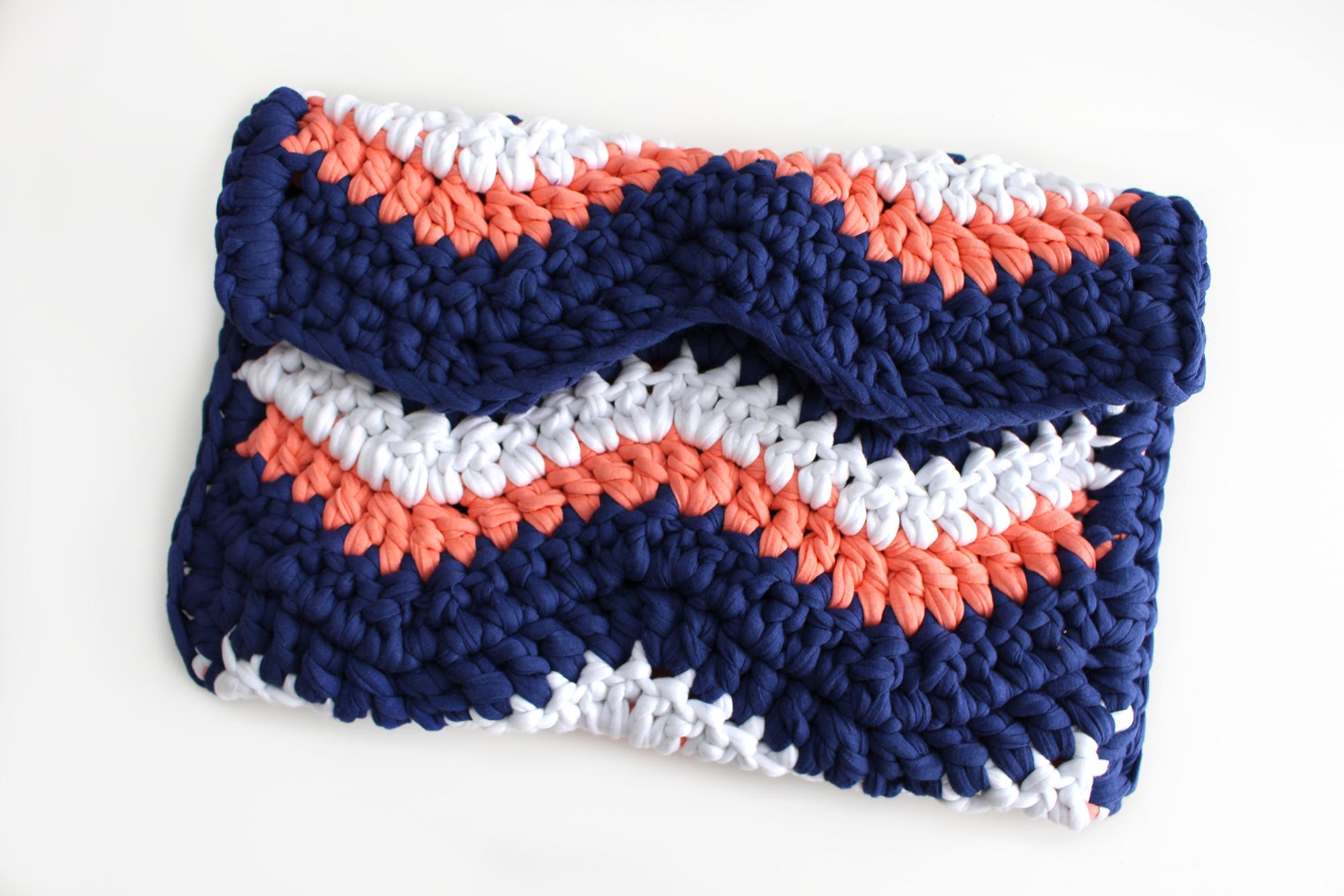Único Fácil Patrón De Crochet Chevron Imagen - Ideas de Patrones de ...