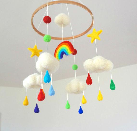 moldes y pap nubes gotas y arco iris fieltro. Black Bedroom Furniture Sets. Home Design Ideas