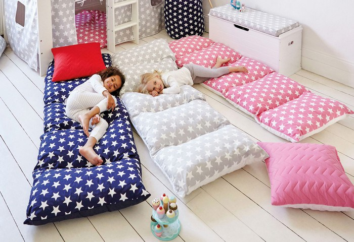 Paso a paso almohadones colchonetas camas de suelo - Almohada ninos ikea ...