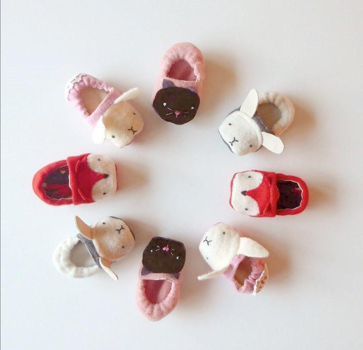 Zapatillas de bebé – Patrones y video paso a paso – Comando Craft