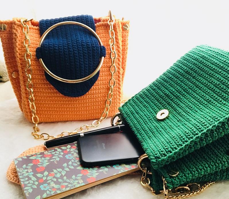 patrones bolsos crochet – Comando Craft