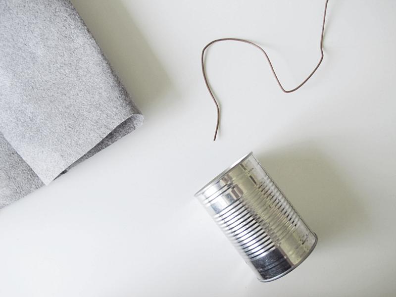 Paso a paso – Cajas y botes de fieltro para almacenaje – Sin coser ...