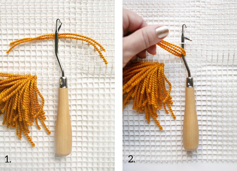 Paso a paso – Tapiz de lana – Decoración – Comando Craft
