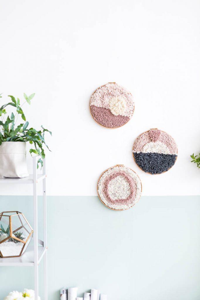 C mo hacer un tapiz con aguja m gica comando craft for Como hacer alfombras en bordado chino
